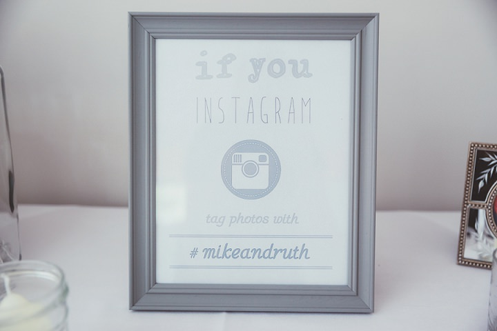 Instagram Sign Doddington Hall Lincolnshire Wedding By Phillipa James Photography