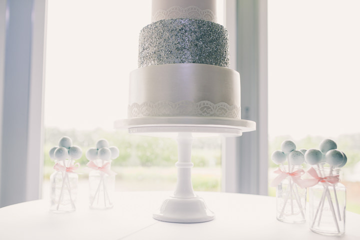 Alrewas Hayes Wedding cake in Staffordshire by Neil Jackson Photographic