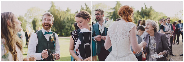 Autumnal Elmore Court guests Gloucestershire Wedding By Scuffins Photography