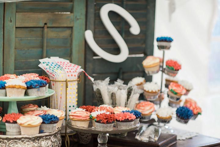 North Carolina Cupcakes Wedding By Heather and Jared Photography