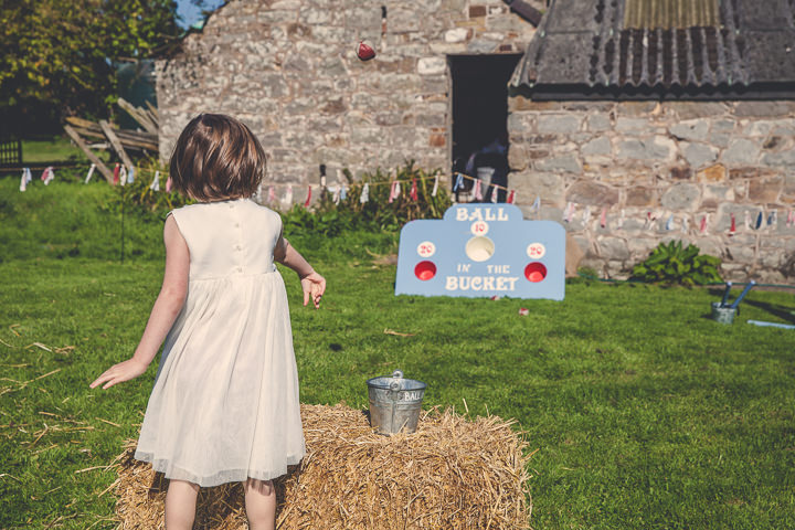 Autumn Wedding with kids in Broncoed Uchaf, North Wales By Lottie Elizabeth Photography