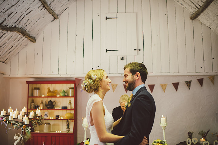 Handmade Wedding getting married at The Thatched Cottage in Derry by Paula Gillespie