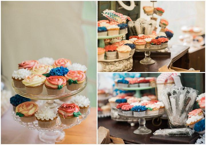 North Carolina Cakes Wedding By Heather and Jared Photography