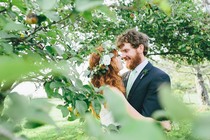 Maine Farm bride and groom Wedding By Maine Tinker Photography