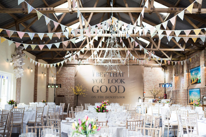 Vintage Inspired bunting Great Yarmouth Town Hall Wedding By Tatum Reid Photography