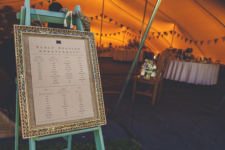 Autumn Wedding in Broncoed Uchaf table plan, North Wales By Lottie Elizabeth Photography