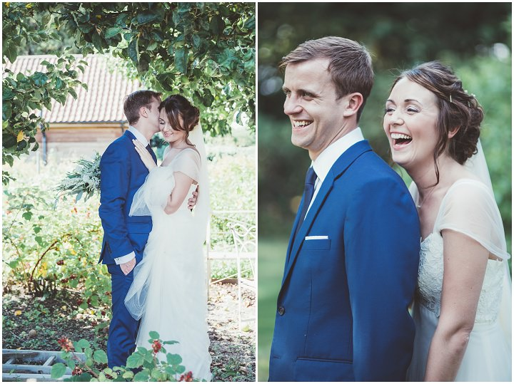 Beautiful bride and groom Doddington Hall Lincolnshire Wedding By Phillipa James Photography