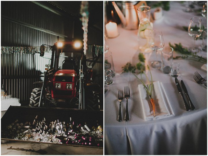 Laid Back Farm Wedding in Estonia with tractorBy Gerry Sulp Photography