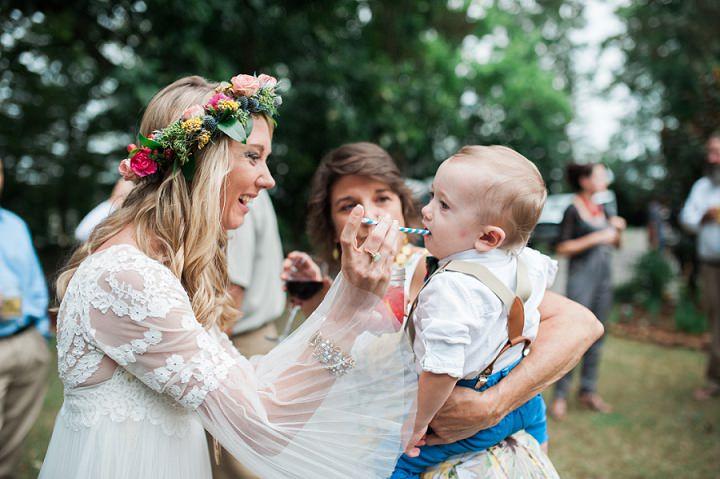 North Carolina Bride Wedding By Heather and Jared Photography