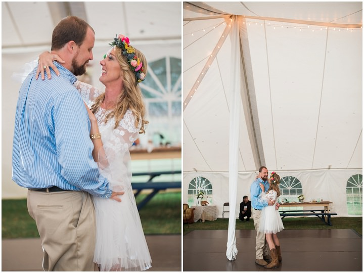 North Carolina First Dance Wedding By Heather and Jared Photography