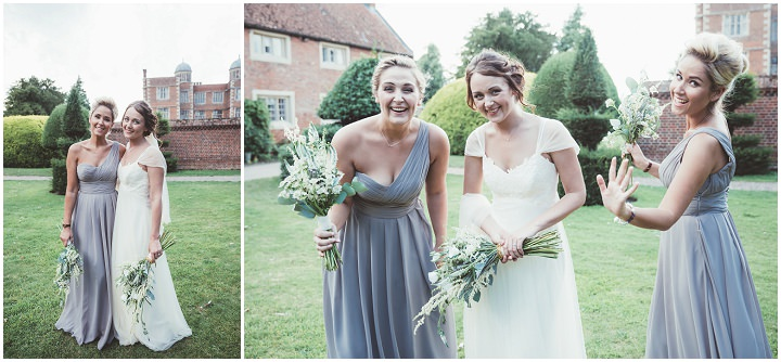 Wedding party at Doddington Hall Lincolnshire Wedding By Phillipa James Photography