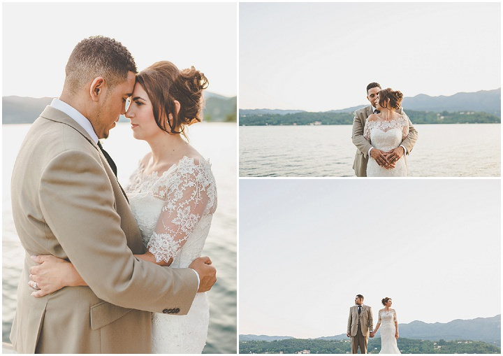 Jennifer and Steven's Romantic and Rustic Italian bridal portraits Wedding By Sam and Louise