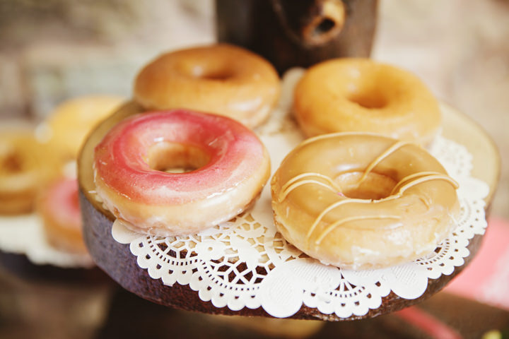 Barn Wedding with Krispy Kreme in Hereford By Gemma William's Photography