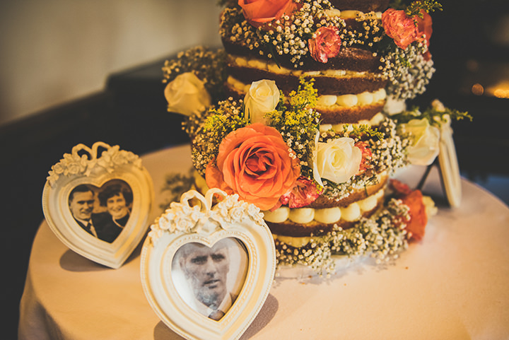 Handmade Wedding pictures at The Thatched Cottage in Derry by Paula Gillespie