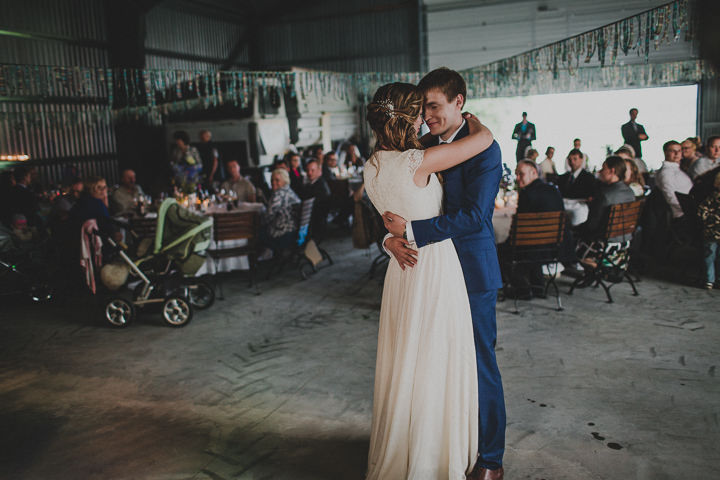 Laid Back Farm Wedding first dance in Estonia By Gerry Sulp Photography