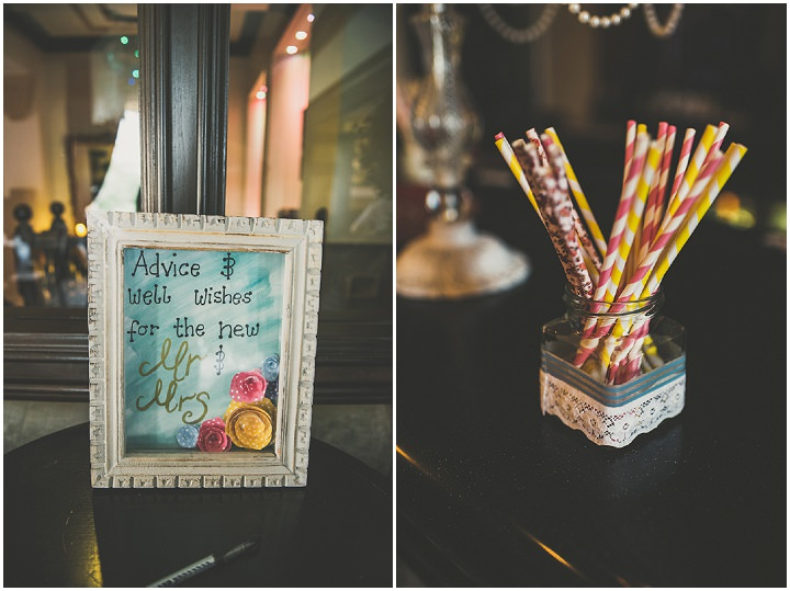 Handmade Wedding finer details at The Thatched Cottage in Derry by Paula Gillespie