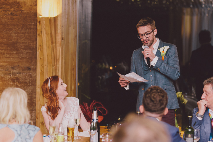 Autumnal Elmore Court speeches Gloucestershire Wedding By Scuffins Photography