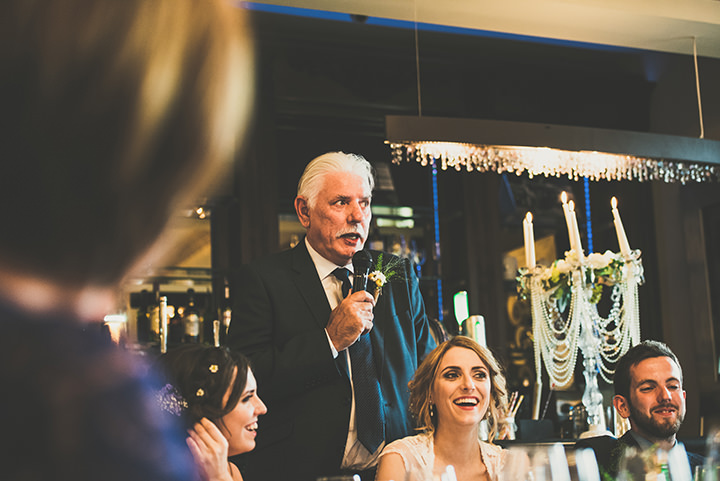 Handmade Wedding speeches at The Thatched Cottage in Derry by Paula Gillespie
