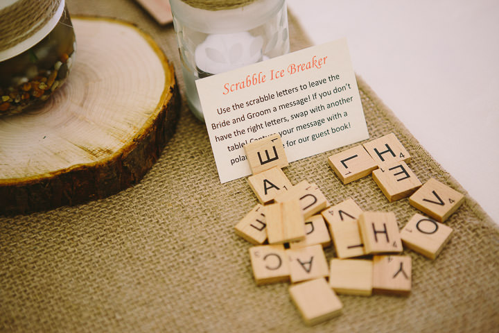 Warwickshire Wedding Scrabble By Kevin Belson Photography