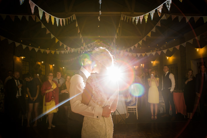 Bride and groom Vintage Inspired Great Yarmouth Town Hall first dance Wedding By Tatum Reid Photography
