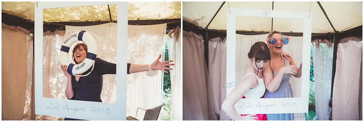 Photo booth Doddington Hall Lincolnshire Wedding By Phillipa James Photography