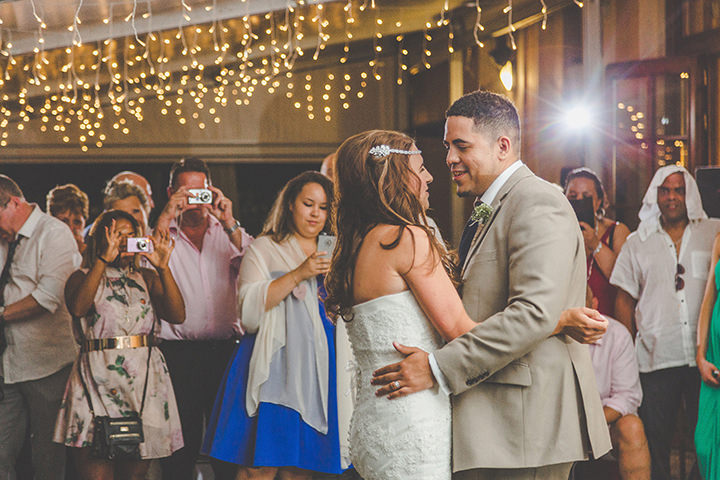 Jennifer and Steven's Romantic and Rustic Ifirst dance talian Wedding By Sam and Louise