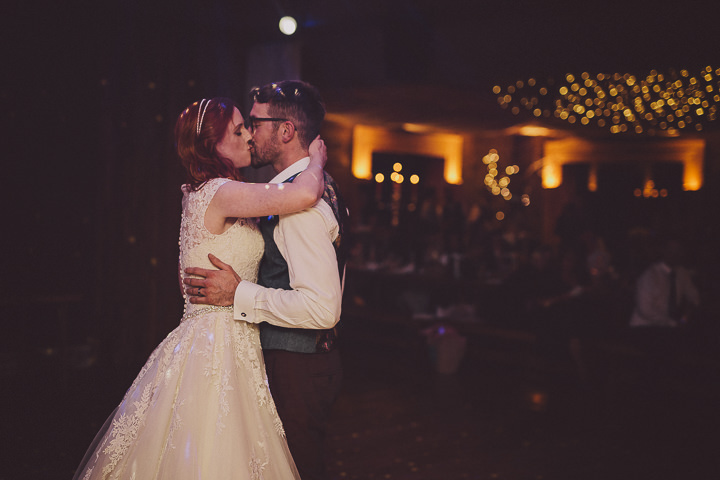 Autumnal Elmore Court First Dance Gloucestershire Wedding By Scuffins Photography