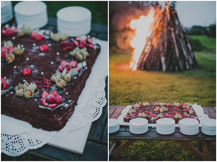 Laid Back Farm Wedding food in Estonia By Gerry Sulp Photography