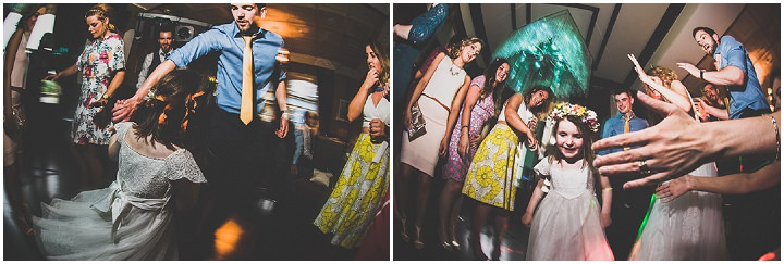 Handmade Wedding dancing at The Thatched Cottage in Derry by Paula Gillespie