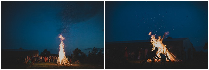 Laid Back Farm Wedding fire in Estonia By Gerry Sulp Photography