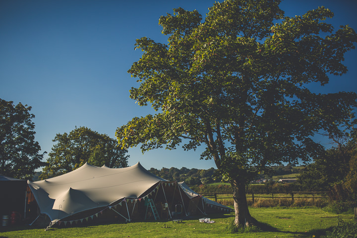 Chloe and Paul's Outdoor Autumn Wedding Tipi in North Wales By Lottie Elizabeth Photography