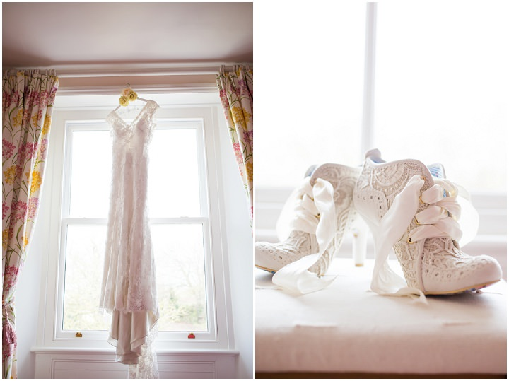 Vintage Inspired Irregular Choice Shoes Great Yarmouth Town Hall Wedding By Tatum Reid Photography