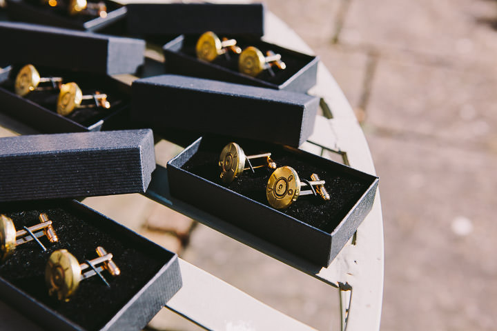Warwickshire Wedding cufflinks By Kevin Belson Photography