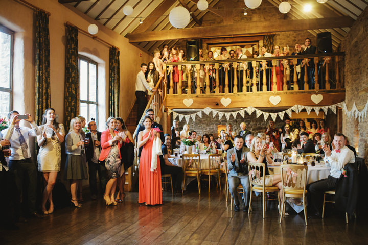 Barn Wedding first dance in Hereford By Gemma William's Photography
