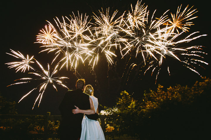 Warwickshire Wedding Fireworks By Kevin Belson Photography