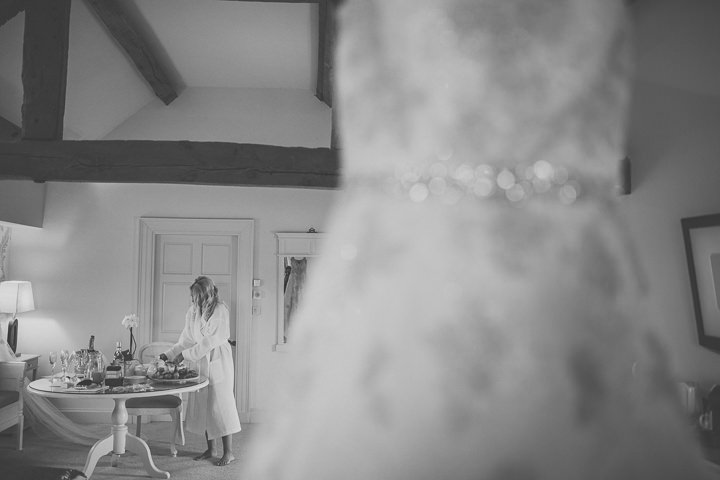 Alrewas Hayes Wedding bride getting ready in Staffordshire by Neil Jackson Photographicc
