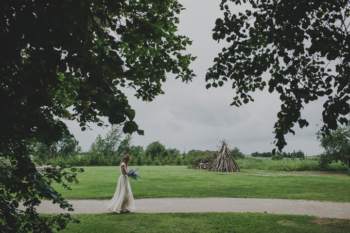 Laid Back Farm Wedding in Estonia with beautiful bride By Gerry Sulp Photography