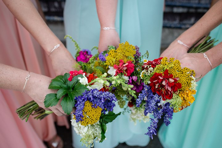 Maine Farm Wedding bouquets By Maine Tinker Photography