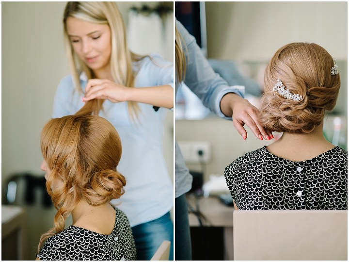 Modern Lithuanian bride getting ready Wedding By Diana Zak Photography
