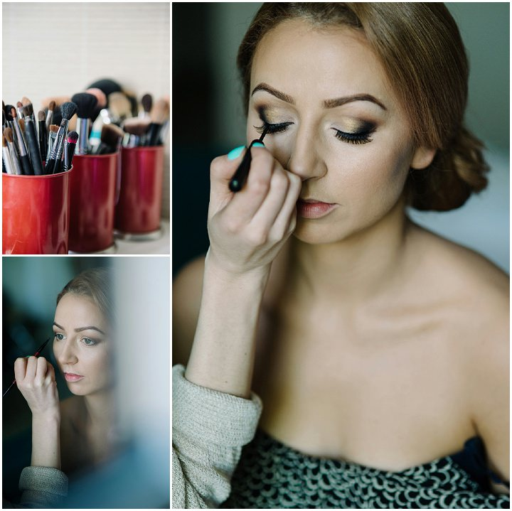 Modern Lithuanian make up application Wedding By Diana Zak Photography