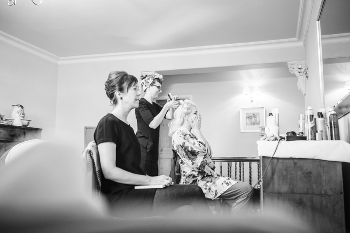 Vintage Inspired Great Yarmouth Town Hall Wedding with bride getting ready By Tatum Reid Photography