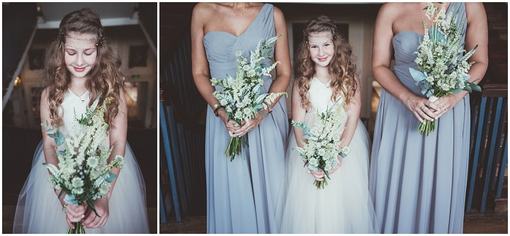 Bridesmaids at Doddington Hall Lincolnshire Wedding By Phillipa James Photography