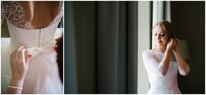 Modern Lithuanian bride getting ready Wedding By Diana Zak Photography