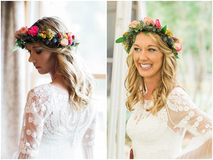 North Carolina Boho Bride Wedding By Heather and Jared Photography