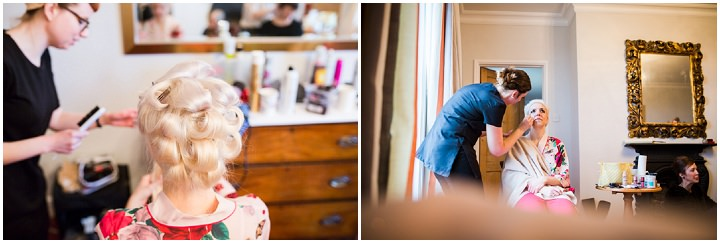 Vintage Inspired Great Yarmouth Town Hal bride getting ready Wedding By Tatum Reid Photography