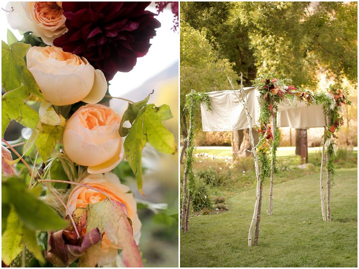 Wedding at Log Haven Restaurant decorations in Utah Wedding By Pepper Nix Photography