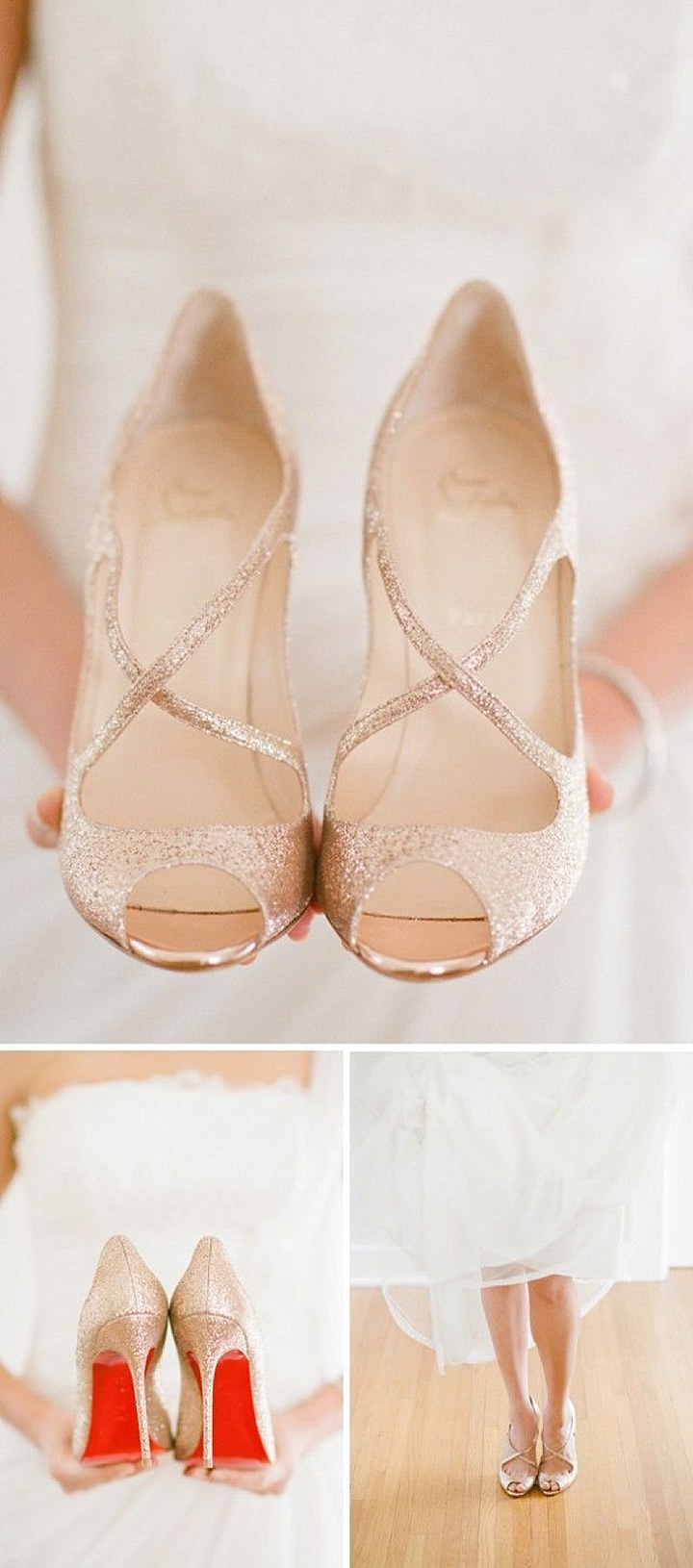 Diary of a Boho Bride - Carmel and Dan, Entry 3: The Wedding Dress and Jimmy Choo Shoes