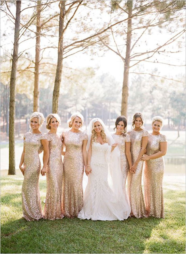 Boho Pins: Top 10 Pins of the Week from Pinterest - Wedding Bridesmaid Dresses that Sparkle