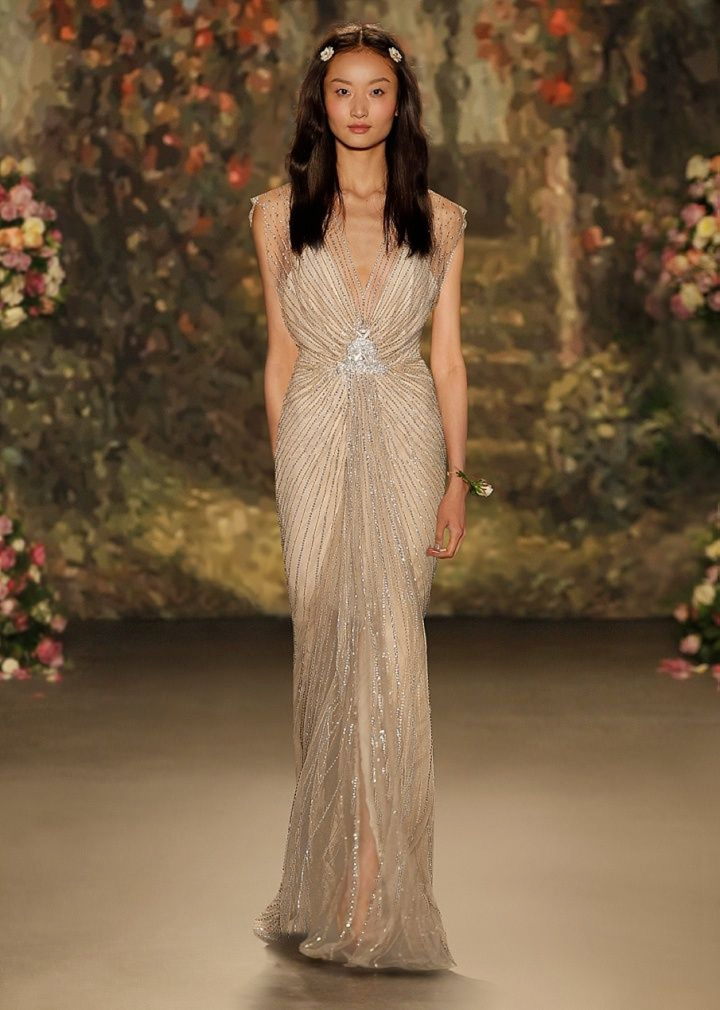 Boho Pins: Top 10 Pins of the Week from Pinterest - Wedding Dresses Jenny Packham that Sparkle