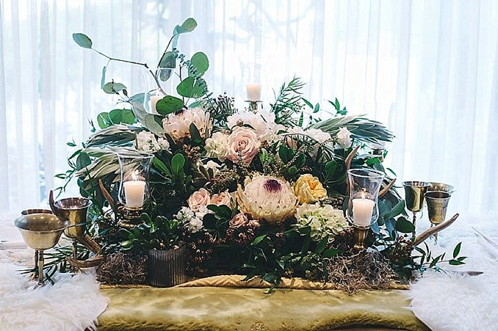 Boho Pins: Top 10 Pins of the Week from Pinterest - Flower Wedding table Decoration